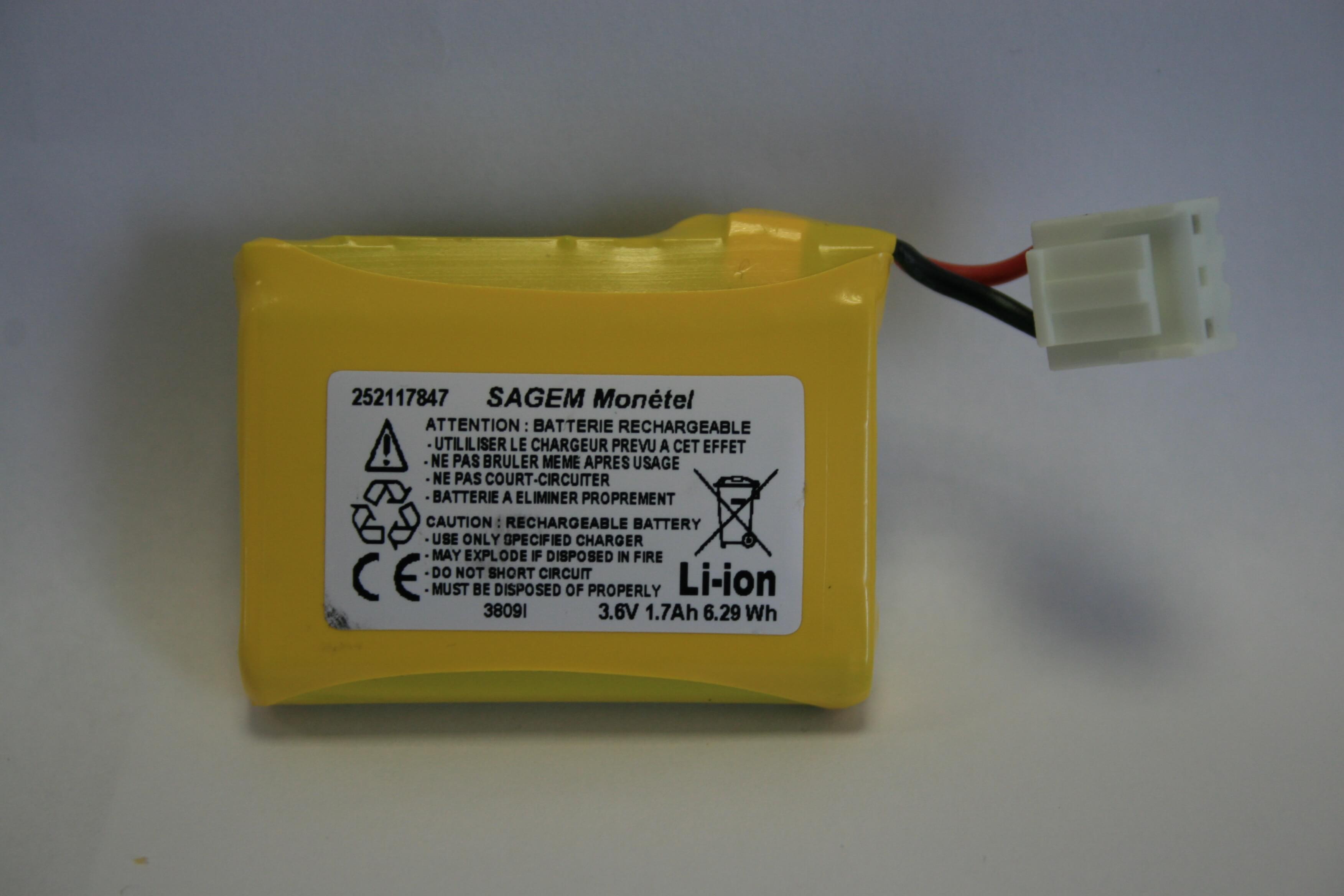 Batterie Li-Ion pour EFT930