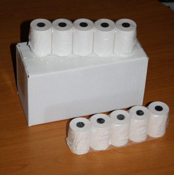 1 Carton de 20 rouleaux papier thermique  57*40*12