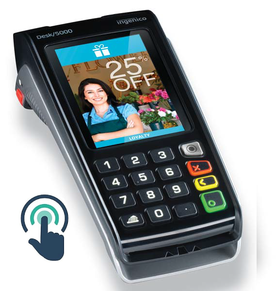 INGENICO DESK 5000 CONTACTLESS